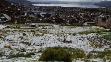Granizada en Puno. Imagen ilustrativa