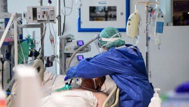 Atención a paciente Covid -19 en una Clinica. Imagen ilustrativa