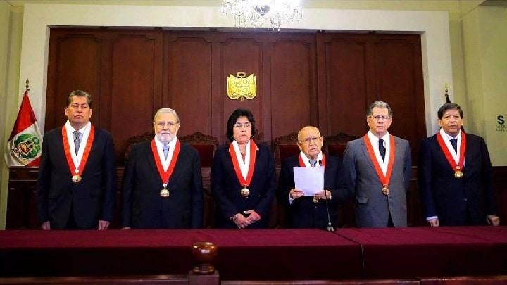 Miembros del Tribunal Constitucional del Perú