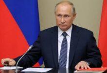 Vladimir Putin, presidete de Rusia