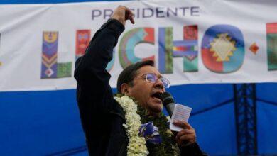 Lucho Arce presidente de Bolivia