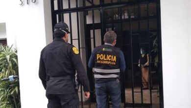 Policia interviene vivienda de Richard Swing