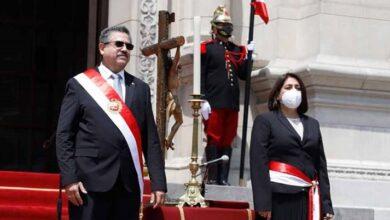 Delia Munoz jura como ministra-de Justicia y Derechos Humanos