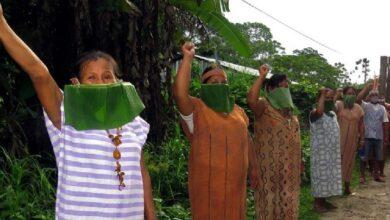 Indígenas amazónicos. Imagen referencial