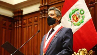 Sagasti Hochhausler asumió la presidencia de la República tras la renuncia de Manuel Merino. Foto. Congreso