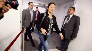 Keiko Fujimori y Mark Vito
