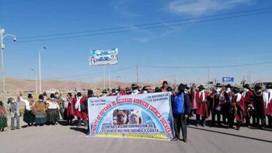 Pobladores de Puno acatan paro indefinido desde este miércoles. Foto: Confederación Nacional Agraria