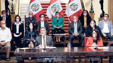 Sagasti y sus ministros sinceran tiempos