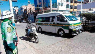 Transporte urbano en Puno