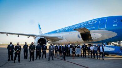 Aerolinea Argentina. Foto Víctor Hugo.