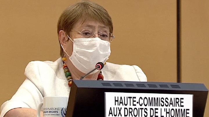 La Alta Comisionada de la ONU para los Derechos Humanos, Michelle Bachelet. Foto:ONU