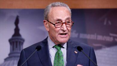 Líder demócrata del Senado Chuck Schumer
