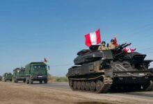 Más de 1.200 efectivos militares se desplazaron a la frontera del Perú esta semana. Foto: Andina/AFP