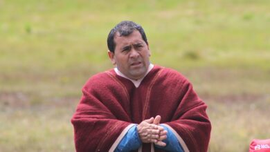 Mesanio Silva Orrillo en Valle Laguna Azul. Foto: César Estrada/Diario Perú.