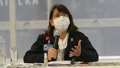 Ministra de Salud Pilar Mazzetti. Foto:APN