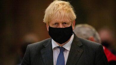 Ministro británico Boris Johnson