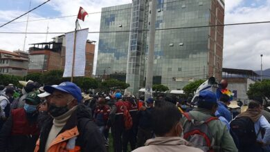 Protestas contra sentencia de 30 años a tres ronderos. Foto: César Estrada/Diario Perú