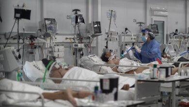 Varios pacientes covid-19.. Imagen ilustrativa