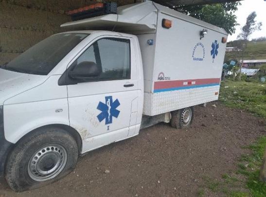 Ambulancia Puesto de Salud Santa Rosa