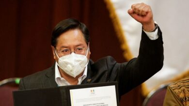 El presidente de Bolivia, Luis Arce. David Mercado Reuters