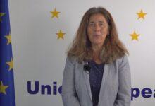 Isabel Brilhante Pedrosa embajadora de la UE en Venezuela.