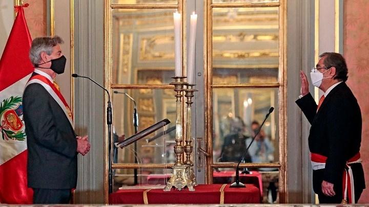 La ceremonia fue en Palacio de Gobierno. Foto.Presidencia