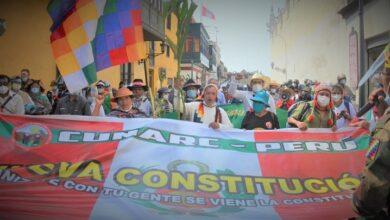 Marcha contra el TC Foto. CUNARC-P