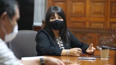 Mirtha Vásquez Chuquilín presidenta del Congreso