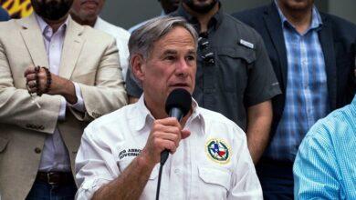 El gobernador de Texas, Greg Abbott. Foto Joel Nagel. AFP
