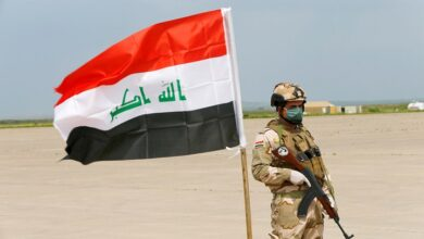 Soldado iraquí. Foto.Thaier Al-Sudani Reuters