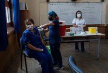 Vacunación Santiago de Chile, el 15 de febrero del 2021