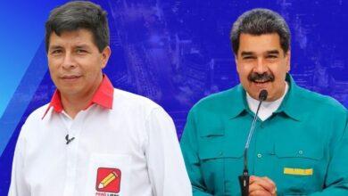 Pedro Castillo & Maduro. Compocisión Diario Perú