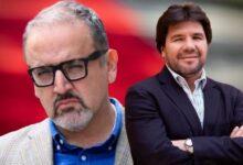 Beto Ortiz y Carlos Paredes. Composición Diario Perú.