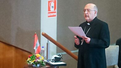 Cardenal Barreto. Foto el peruano