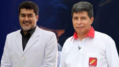 Epidemiólogo Antonio Quispe y Pedro Castillo. Composición Diario Perú
