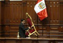 Sillón presidencial Perú