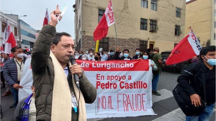 Congresista electo por Perú Libre Segundo Quiroz