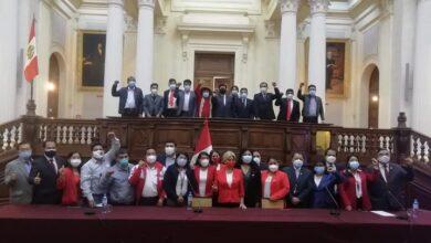 Congresistas electos por Perú Libre