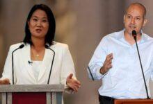 Keiko Fujimori y Sergio Tejada. Imagen compuesta Diario Perú.