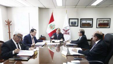 Miembros del Jurado Nacional de Elecciones.