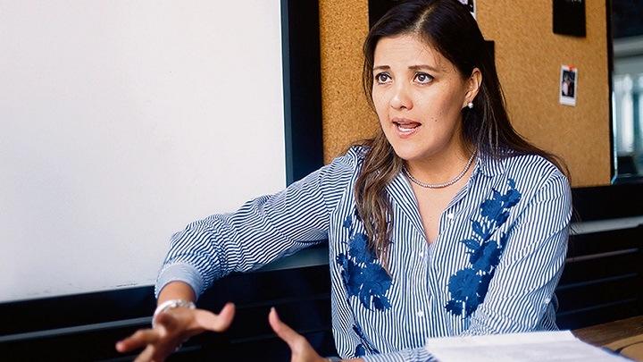 Osorio exhortó a la ciudadanía a confiar en el desempeño del Jurado Nacional de Elecciones y de la ONPE. Foto La República.