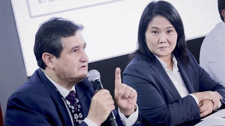 Recursos de nulidad de Keiko Fujimori cuestionan trabajo de ONPE. Foto. John Reyes.La República
